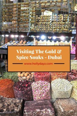 Visiting The Gold & Spice Souks  ©2015 HollyDayz