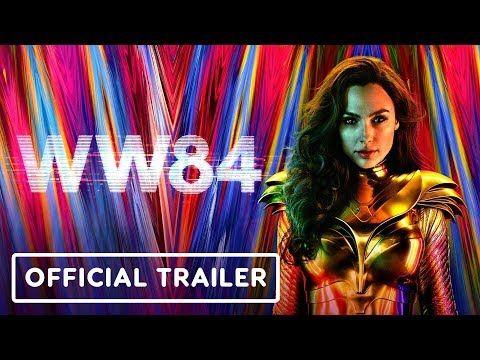 Wonder Woman 1984 Official Trailer 2020 Gal Gadot Kristen Wiig And Pedro Pascal Youtube Gal Gadot Kristen Wiig Pedro Pascal