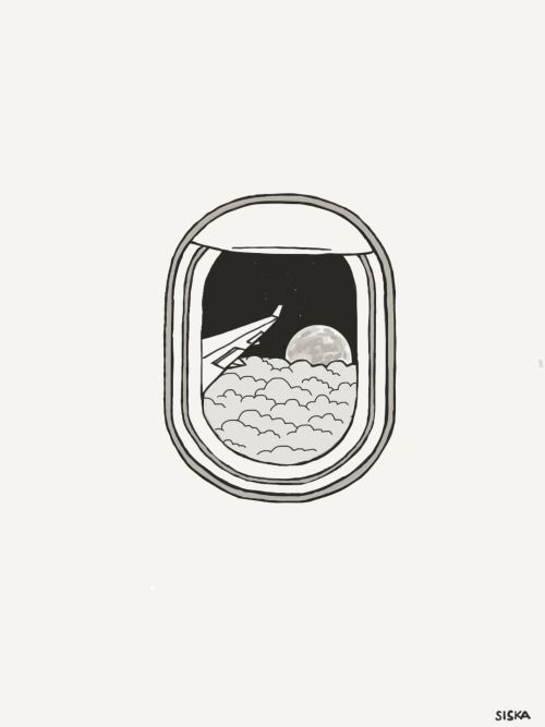 Image Result For Airplane Window Drawing Minimalist Drawing