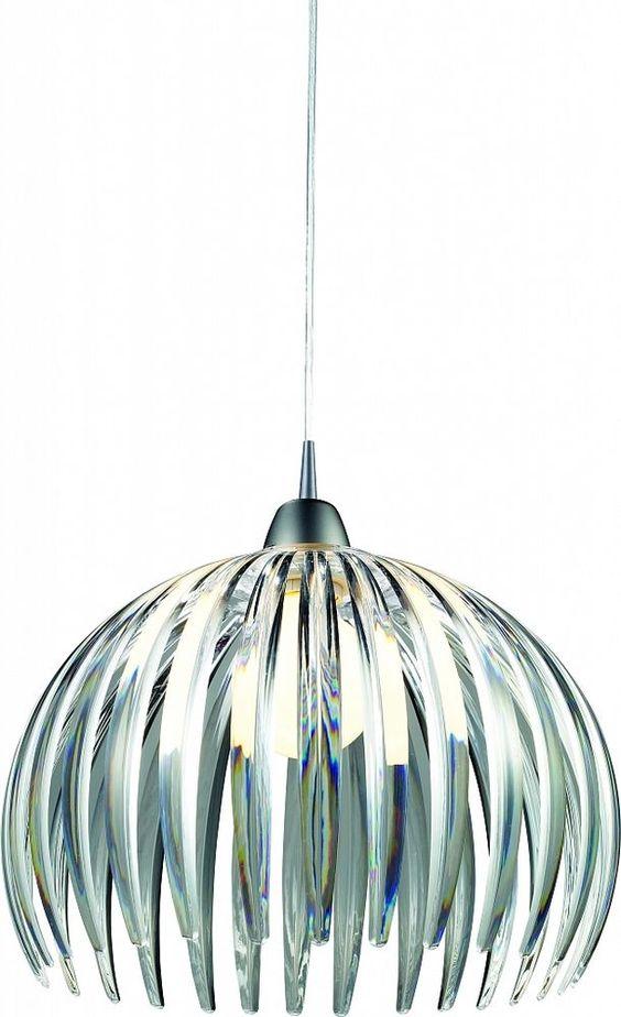 Design Luminaire suspendu en argent Suspension suspension Luminaire Lampe