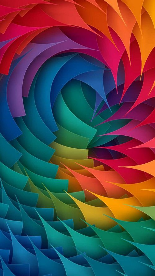 Oppo A77 Wallpaper With Colorful 3d Object Hd Wallpapers Wallpapers Download High Resolution Wallpapers Abstract Wallpaper Colorful Wallpaper Rainbow Wallpaper