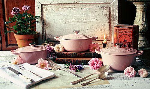 Le Creuset Chiffon Pink