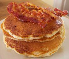Perfect American pancakes