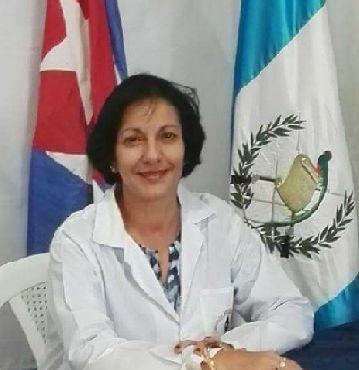 Maricel Marín. Coordinadora General de la RST Martianos de Guatemala.