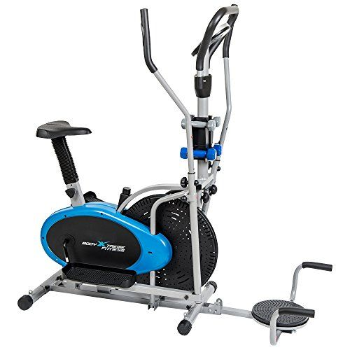 Cheap Body Xtreme Fitness 6 In 1 Elliptical Trainer Exercise Bike