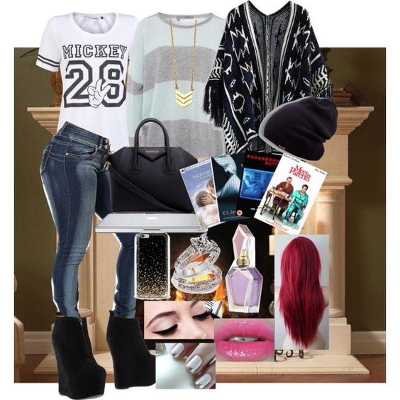 A fashion look from March 2015 featuring 360 Sweater sweaters, ONLY tops and Chicwish. Browse and shop related looks.
