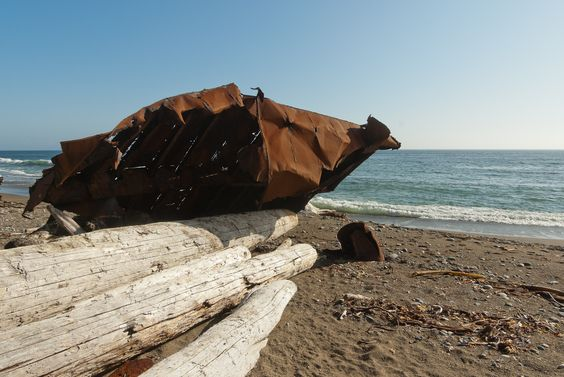 West Coast Trail   West Coast Trail - Old Boat