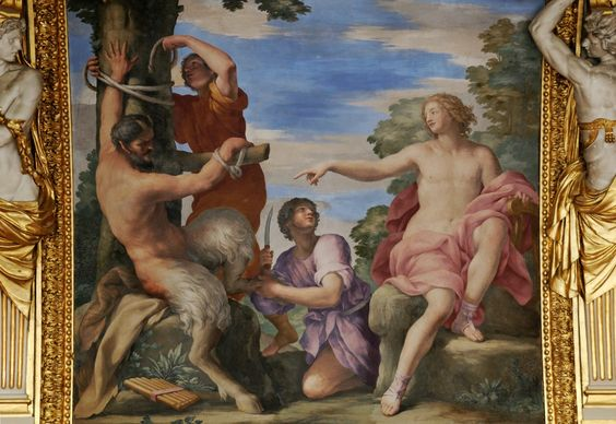 Giovanni Francesco Romanelli Apollo & Marsyas 1655-58