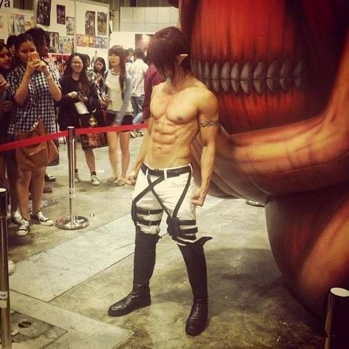 Attack on Titan and Cosplay on Pinterest