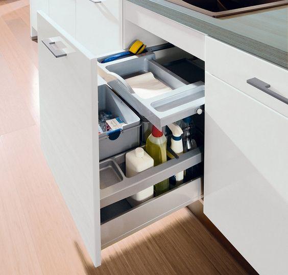 Küchenschrank-Innenausstattung Auszüge, Einsätze \ Co urban - korbauszüge für küchenschränke
