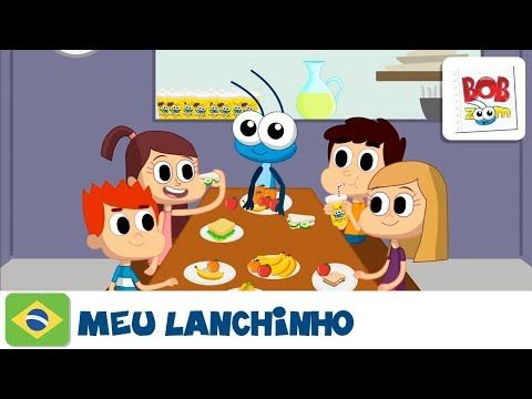 Meu Lanchinho Bob Zoom Video Infantil Musical Oficial