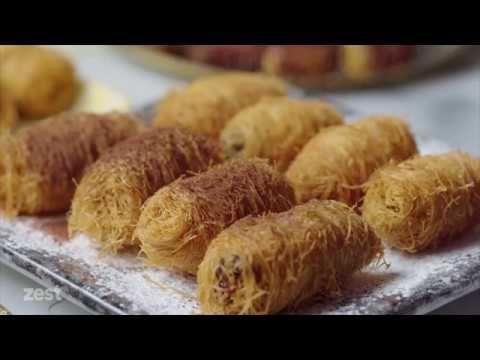 Konafa Rolls كنافة رولز الشيف أسامة السيد Youtube Recipes Food Almond