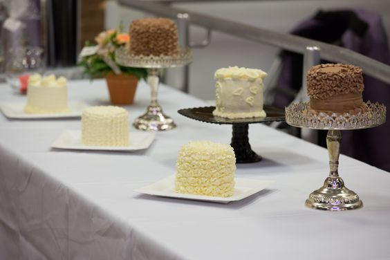 Cakes for the Frosted Wedding Ring Hunt...Which cake are the rings in?