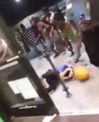 A mob of black teens beat Kroger customers and employees with pumpkins (9/6/14)----It seems like last week's Youth Forum did little to booster civic pride for POTUS' children.