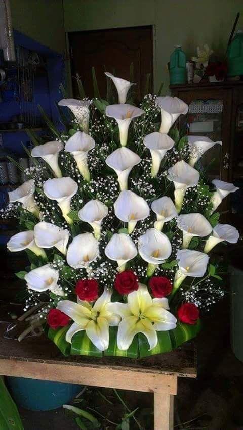 Lindo arranjo floral