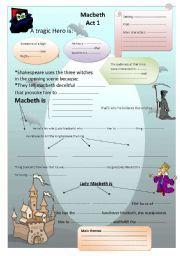 Printables Macbeth Worksheets english teaching worksheets macbeth shakespeare study macbeth
