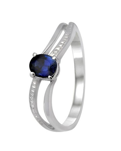 VALMANO collection Ring 375 Gold mit Saphir • VALMANO Juwelier