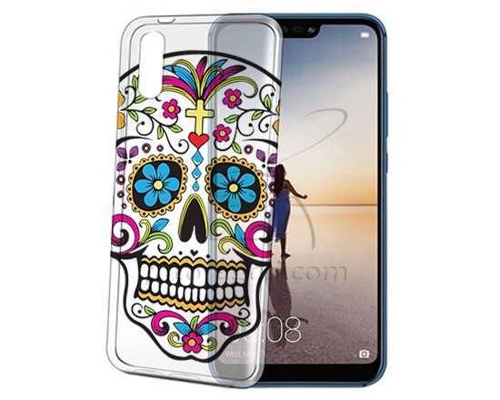 Cover trasparente Huawei P20 Teschio - Fotoregali.com   Teschi ...