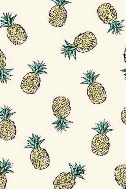 Fond ananas fond d 39 cran pinterest for Fond ecran ananas