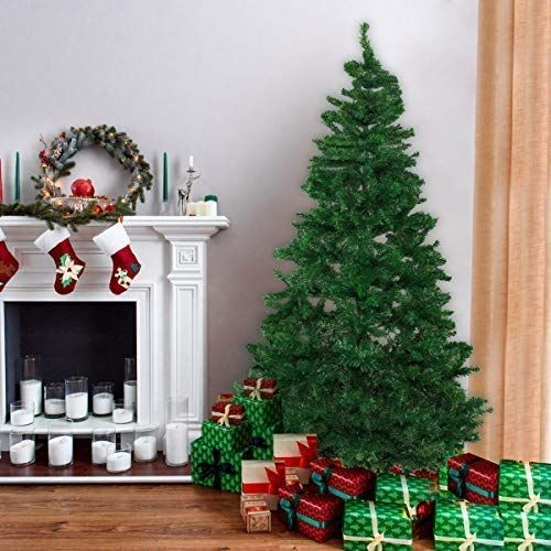 Bocca 7 Ft Christmas Artificial Pine Tree Full Branches Cool Christmas Trees Christmas Tree Shop Christmas Tree Store