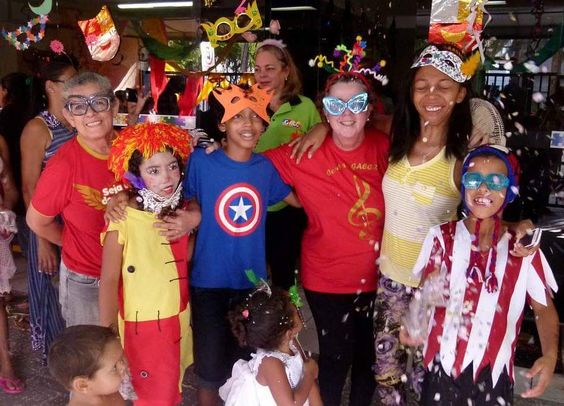 Hoje a alegria tomou conta no GACC em mais uma edição do GACC Folia o nosso bailinho de carnaval.  #GACCRN #2016