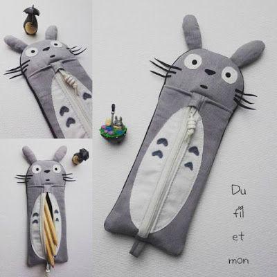 dufiletmon.blogspot.fr : Trousse Totoro