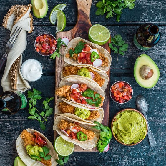 Fried Chicken Tacos | When done well there may not be a better comfort food than fried chicken. And it's versatile to boot. From sandwichesto tacos to ramen, click through ...