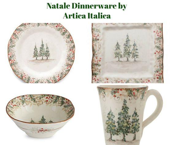 Natale Dinnerware by Arte Italica