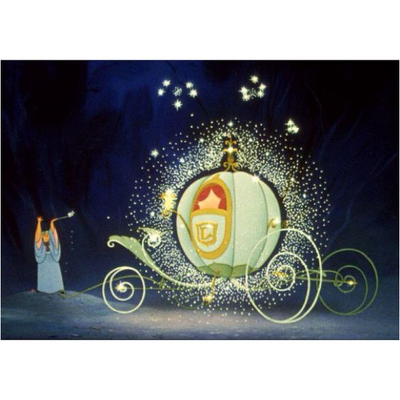 The magic of the Fairy Godmother ....