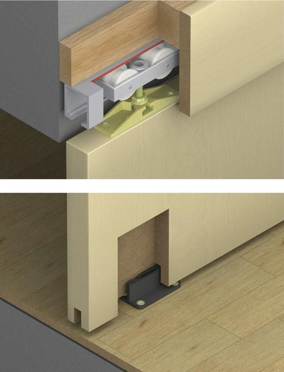 Pin On Sliding Door Hardware