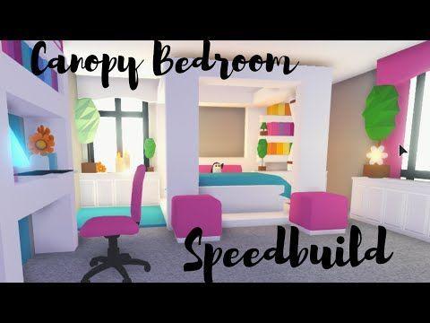 Canopy Bed With Custom Blanket Bedroom Speedbuild Roblox Adopt Me Adopt Bed Bedroom Blanket Canopy In 2020 Cute Room Ideas Customized Blankets Cute Bedroom Ideas