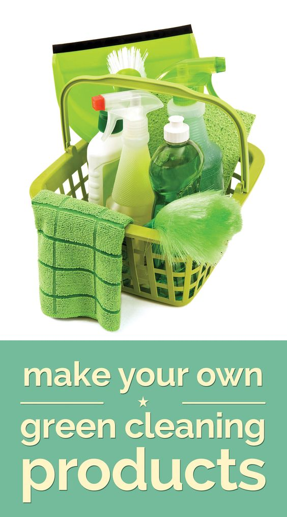 Make Your Own Green Cleaning Products - thegoodstuff