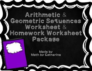 arithmetic and geometric sequences worksheets 7th grade arithmetic sequence word problems. Black Bedroom Furniture Sets. Home Design Ideas