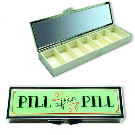Boîte à Pilules Rétro #vintage