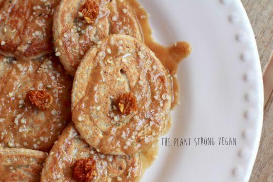 Plant Strong Pancakes | Vegan Recipe | The Plant Strong Vegan