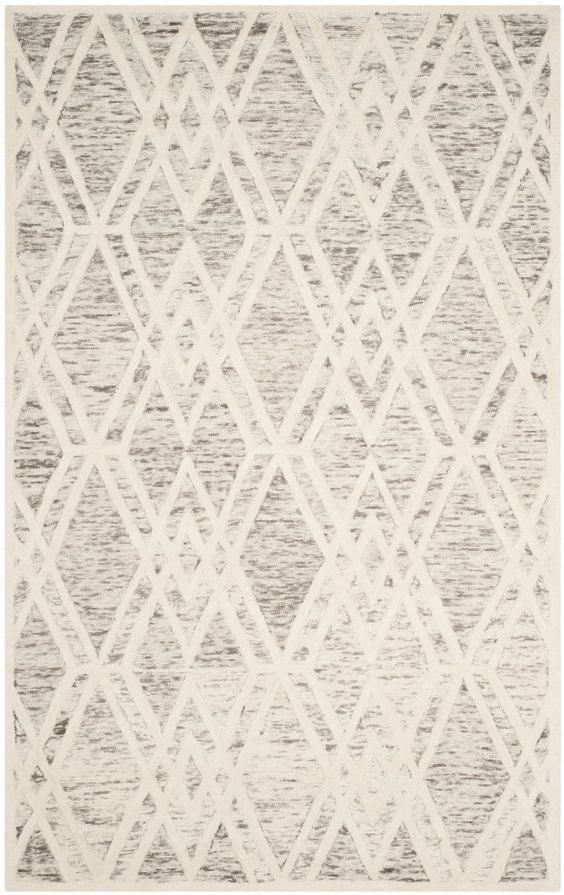 Cambridge Hand-Tufted Light Brown / Ivory Area Rug