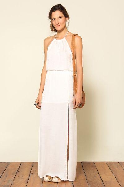 vestido longo 2 fendas