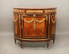 A Nice Late 19th Century Gilt Bronze Mounted Cabinet