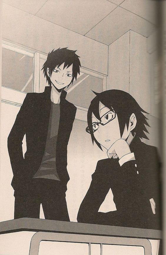 Shinra and Izaya, Durarara!!
