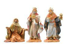 Fontanini by Roman Kings Nativity Set, 3-Piece, 5-Inch Each. Available at OurPamperedHome.com