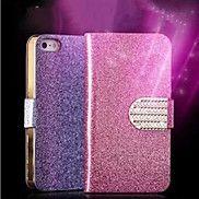 luxe+glimmende+diamant+pu+lederen+casewith+veilig+gesp+bling+case+voor+de+iPhone+5+/+5s+–+EUR+€+5.87