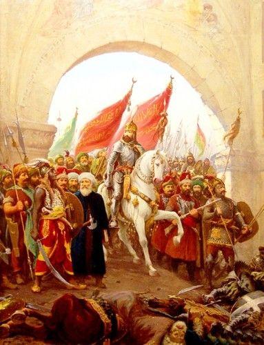 29 Mayıs 1453... Biliyorsunuz ki bugün İstanbul' un fethinin 556. yıl dönümü. İstanbul mutlaka fetholunacaktır. Onu fetheden kumandan ne güzel kumandan, onu #wolkanca @wolkanca