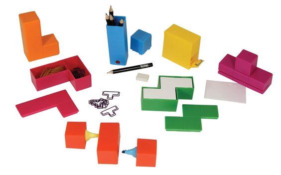 Amazon.com: Paladone Tetris Desk Tidy, 7-Piece: Toys & Games