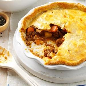 Quick and easy meat pie recipes