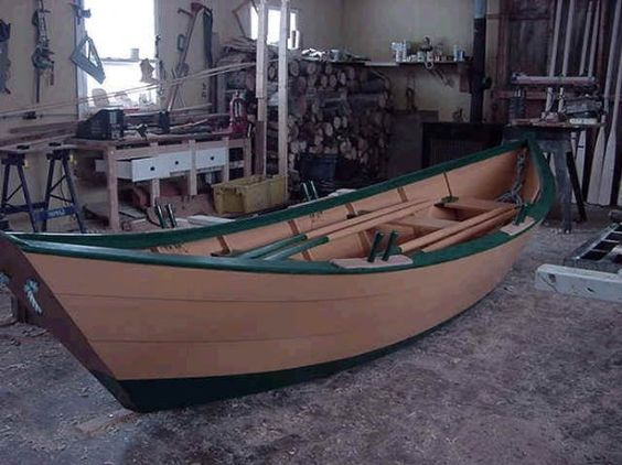 plywood dory | Dory Boat Plans Building your own 16' wooden dory boat is easier than ... | Boats ...