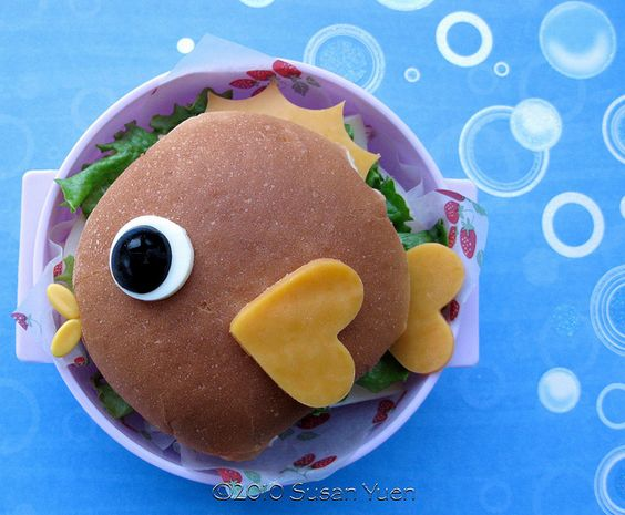fish face sandwich