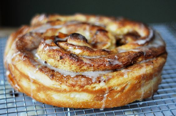 Mel's Kitchen Cafe   Giant Cinnamon Rolls {with step-by-step photos}