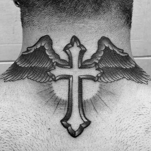 125 Best Neck Tattoos For Men Cool Ideas Designs 2020 Guide Back Of Neck Tattoo Neck Tattoo For Guys Best Neck Tattoos