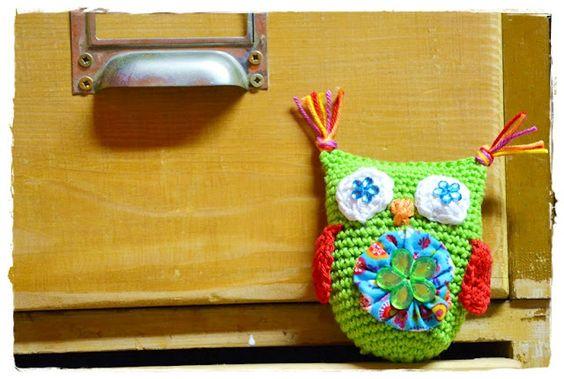 Crochet owl / Häkeleule