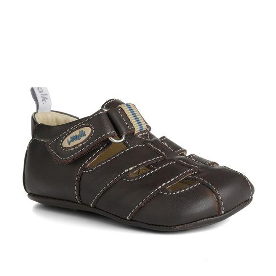 pre-walk chocolate sandal - sale - boy 9 months - 5 years - shop online - Bobux Australia